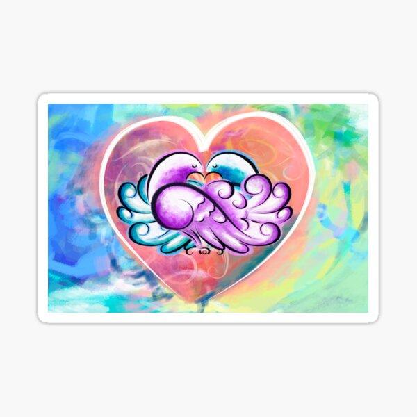 Lovey Dovey Sticker