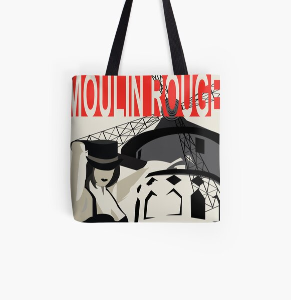 Spectacle Du Burlesque! All Over Print Tote Bag