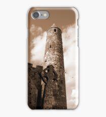 sepia rock of cashel iPhone Case/Skin