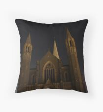 Sacred Heart Cathedral Throw Pillow