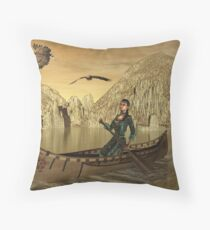 Guided By Messengers Throw Pillow