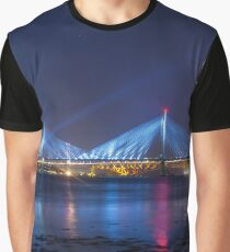 Queensferry Blue Graphic T-Shirt