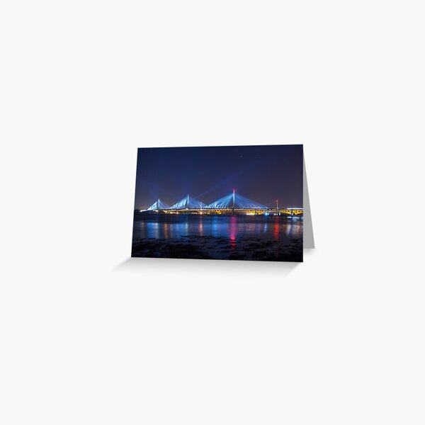 Queensferry Blue Greeting Card