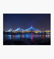 Queensferry Blue Photographic Print