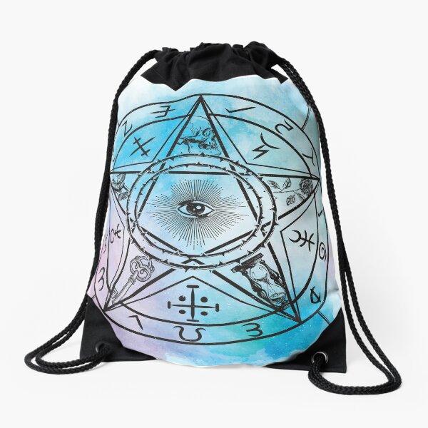 Evil Eye Drawstring Bag