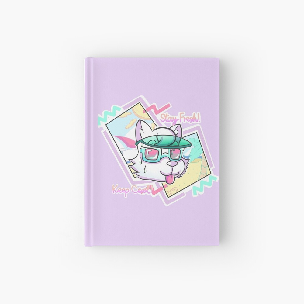 STAY FRESH! KEEP COOL! Hardcover Journal