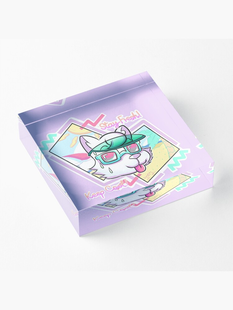 Alternate view of STAY FRESH! KEEP COOL! Acrylic Block