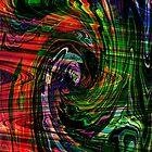 Swirl Abstract by Forfarlass