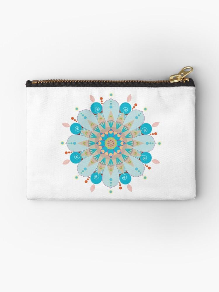 "« Mandala fleur, ""Mer & sable"" » par RosaLeeDesign"