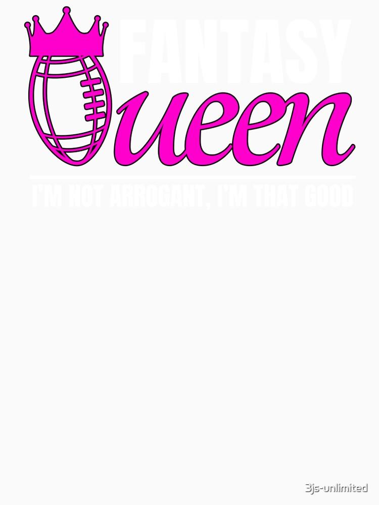 Fantasy Football Queen Football Women S Premium T Shirt By 3js