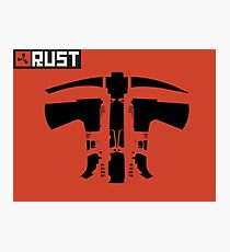 Rust Weapons Photographic Print