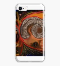 two rams in fight iPhone Case/Skin