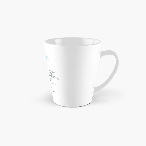 The Joy of the Lord is my Strength outline by Jan Marvin Tall Mug