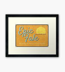 Epic Fale Framed Print