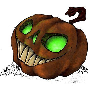 Spooky Halloween Jack-O-Lantern by SuspendedDreams
