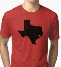 Houston Love – Texas Flooding Awareness Tri-blend T-Shirt
