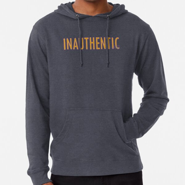 Just our INAUTHENTIC.UK Logo Lightweight Hoodie
