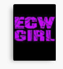 ECW Girl Canvas Print