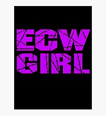 ECW Girl Photographic Print