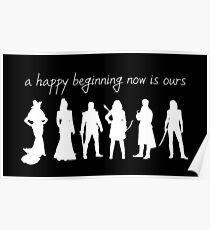 A happy beginning now is ours Poster
