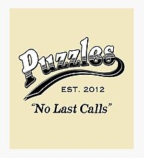 Puzzles Bar Photographic Print