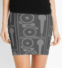 2 turntables and a microphone Mini Skirt