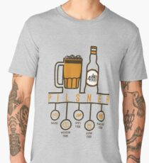 T-Shirt Craft Beer Pilsen 4 Bauco Food Armonization Men's Premium T-Shirt
