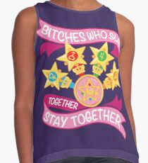 Slay Together, Stay Together - Sailor Scouts Contrast Tank