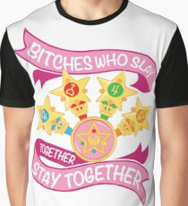 Slay Together, Stay Together - Sailor Scouts Graphic T-Shirt