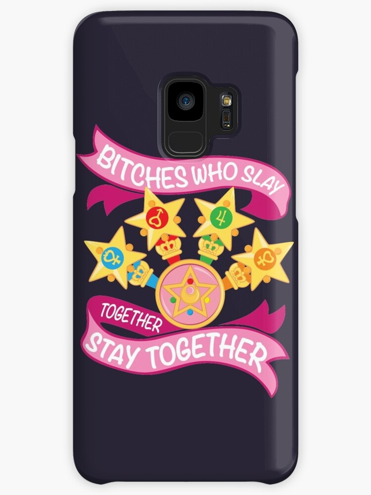 Slay Together Stay Together Sailor Scouts Case Skin For Samsung Galaxy By Skittzi