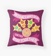 Slay Together, Stay Together - Sailor Scouts Throw Pillow
