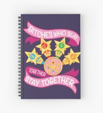 Slay Together, Stay Together - Sailor Scouts Spiral Notebook
