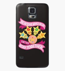 Slay Together, Stay Together - Sailor Scouts Clean Case/Skin for Samsung Galaxy