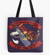 Slay Together, Stay Together - Bayonetta & Jeanne Tote Bag
