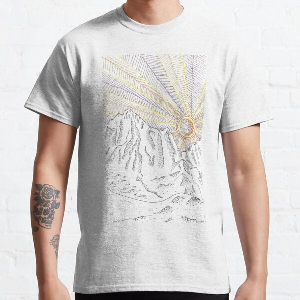 Tolkien landscape  Classic T-Shirt