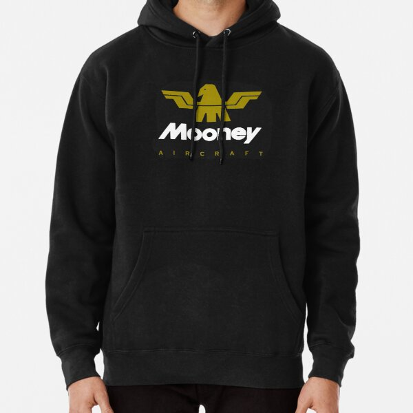 Mooney Vintage Aircraft USA Pullover Hoodie