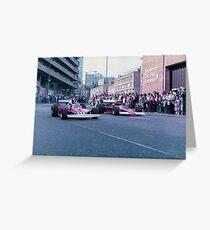 Birmingham Super Prix and Ferrari Greeting Card