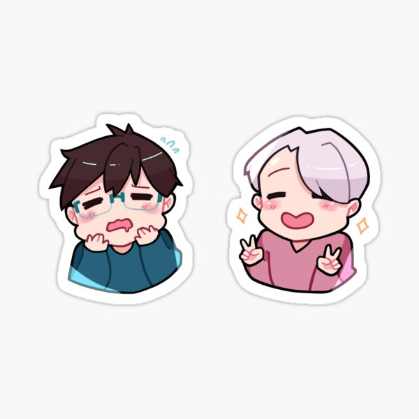 victuuri sticker set  Sticker
