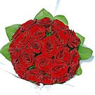 Red Roses for the Bride by julie08