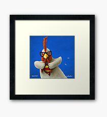 Will Bullas print / Cluck Kent... Framed Print