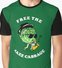 Free The Jazz Cabbage Graphic T-Shirt