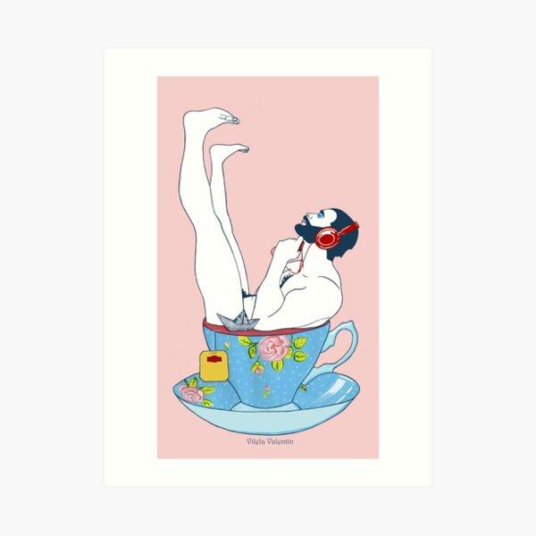 Teezeit Lámina artística