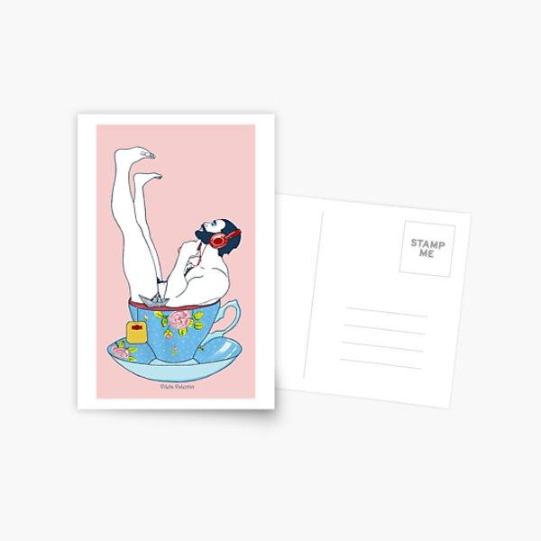 Teezeit Postcard