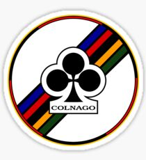 Colnago Bicycles Italy Sticker