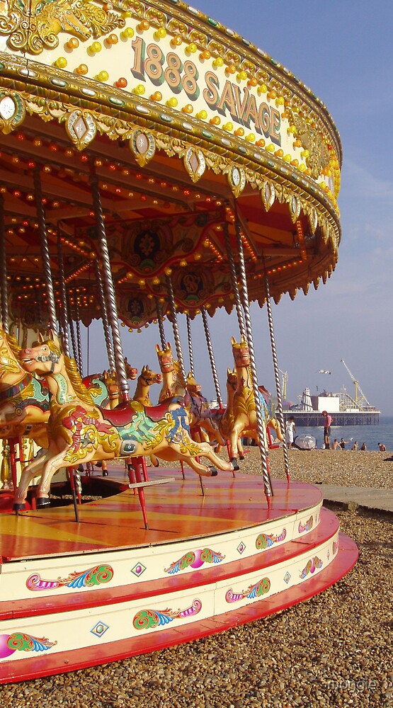 Carousel by moggie