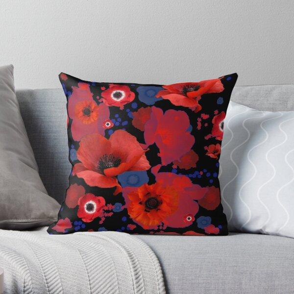 The Poppies Throw Pillow