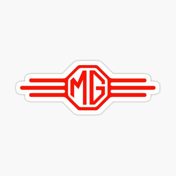 MG cars England  Sticker