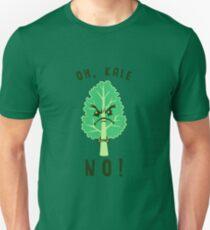 Oh Grünkohl Nein Slim Fit T-Shirt