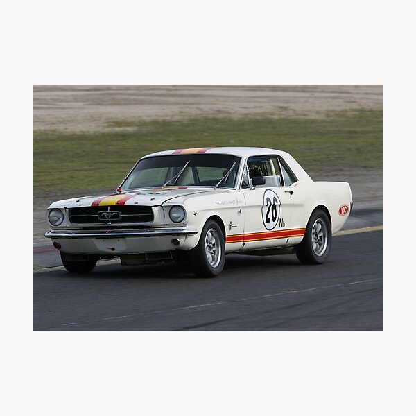 Mustang muscle Photographic Print
