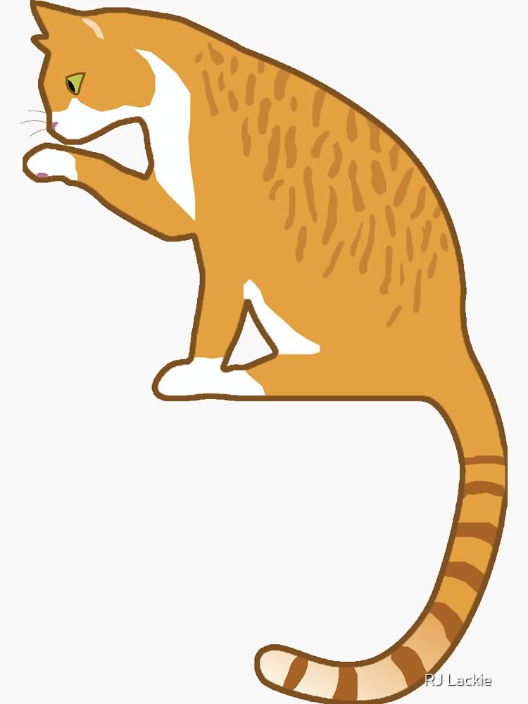 Lindo gato naranja de beccal301